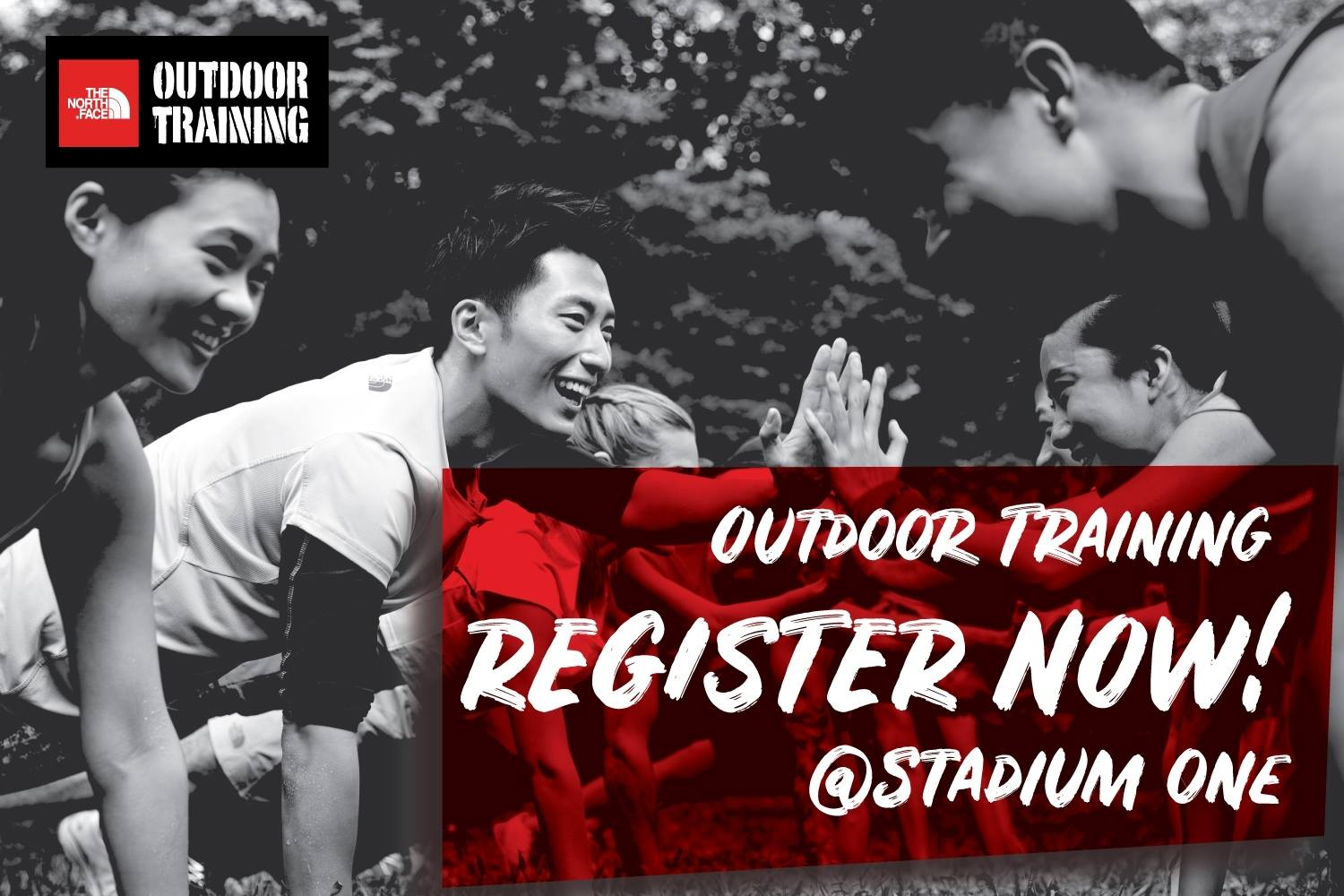the north face outdoor training Thailand