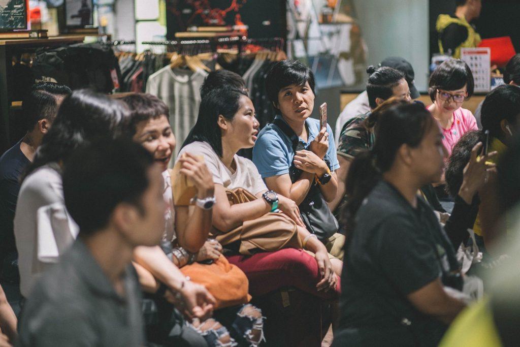 ร้าน the north face Siam Discovery